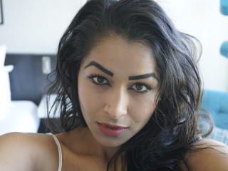 Picture of the sexy profile of InsianGoddess, for a very hot webcam live show !