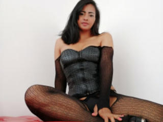 Picture of the sexy profile of KarlysHoney, for a very hot webcam live show !