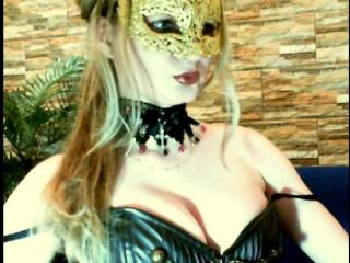 Picture of the sexy profile of Develish, for a very hot webcam live show !