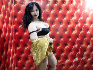 Sexet profilfoto af model MilanaHotMature, til meget hot live show webcam!