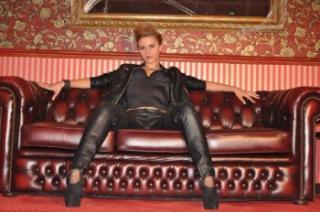 Foto de perfil sexy da modelo Cezaratheone, para um live show muito quente!