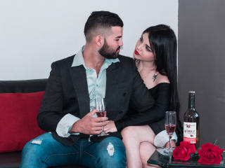 SebastianNMariana - Chat cam xXx with a shaved sexual organ Girl and boy couple