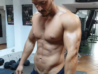 Picture of the sexy profile of AidanGreen, for a very hot webcam live show !