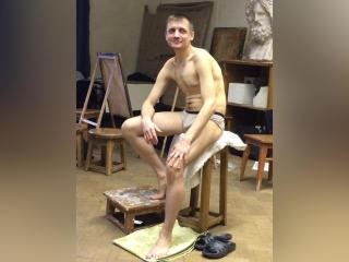 Photo de profil sexy du modèle RaymondHero, pour un live show webcam très hot !