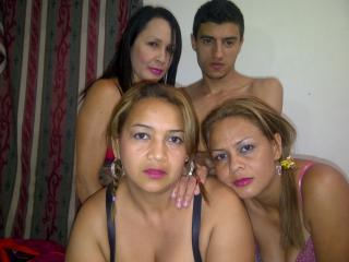 Picture of the sexy profile of LatinGroupSexFour, for a very hot webcam live show !