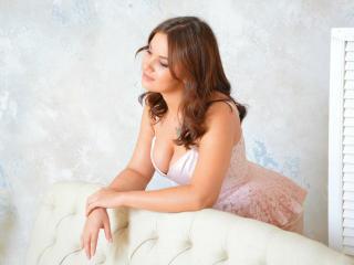 Photo de profil sexy du modèle FairyCalm, pour un live show webcam très hot !