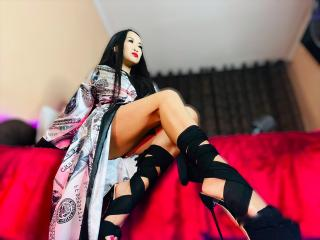 Picture of the sexy profile of MistressCruelX, for a very hot webcam live show !