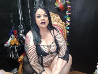 Photo de profil sexy du modèle KinkyFetishOne, pour un live show webcam très hot !