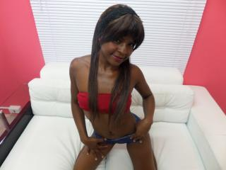 Picture of the sexy profile of TanniaEbony, for a very hot webcam live show !