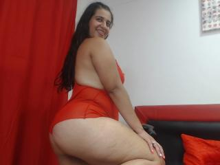 Picture of the sexy profile of ShadowBlue, for a very hot webcam live show !